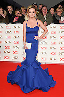 Ola Jordan<br /> at the National TV Awards 2017 held at the O2 Arena, Greenwich, London.<br /> <br /> <br /> &copy;Ash Knotek  D3221  25/01/2017