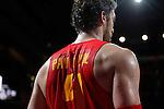 Spain´s Pau Gasol during FIBA Basketball World Cup Spain 2014 match between Spain and France at `Palacio de los deportes´ stadium in Madrid, Spain. September 10, 2014. (Victor Blanco)