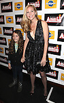 Jennifer Westfeldt  & guest attending the Broadway Opening Night Performance of 'Annie' at the Palace Theatre in New York City on 11/08/2012