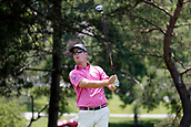 4th June 2017, Dublin, OH, USA;  Kevin Streelman tees off on the second hole during the Memorial Tournament - Final Round at Muirfield Village Golf Club in Dublin, Ohio