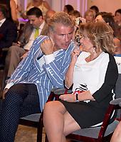 Teresa Campos and Bigote Arrocet
