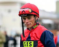 Jockey Kieran Shoemark during Evening Racing at Salisbury Racecourse on 11th June 2019