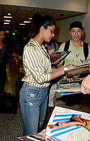 www.acepixs.com<br /> <br /> May 11 2017, Miami<br /> <br /> Actress Priyanka Chopra arrives at Maimi International Airport in advance of the premiere of Baywatch on May 11 2017 in Miami<br /> <br /> By Line: Solar/ACE Pictures<br /> <br /> ACE Pictures Inc<br /> Tel: 6467670430<br /> Email: info@acepixs.com<br /> www.acepixs.com