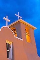 The San Francisco de Asis church in Ranchos de Taos in New Mexico.