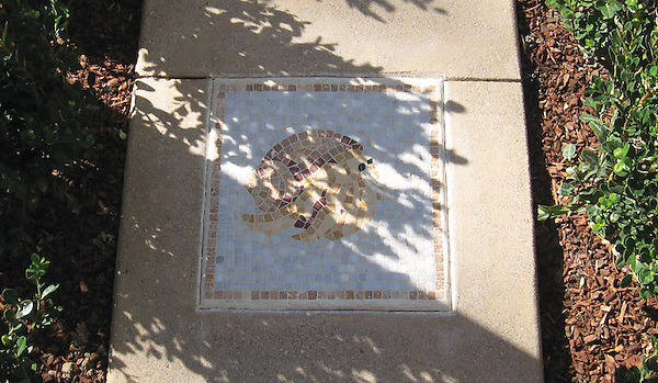 Hermit Crab accent Public Library Newport Beach, CA