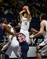Brandon Smith of California shoots the ball during the game against Pepperdine at Haas Pavilion in Berkeley, California on November 13th, 2012.  California defeated Pepperdine, 79-62.