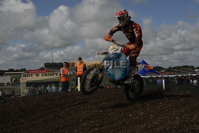 Marcus Schiffer (GER) speeds by in the MX1 Grand Prix Race1 during the Motocross Grand Prix at Fairyhouse Race Course, Co.Meath, Ireland, 31st August 2008.(Photo Eoin Clarke/Newsfile)