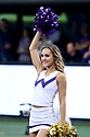 SEATTLE, WA - September 22:  Washington cheerleader Isabelle Miller entertained fans during the college football game between the Washington Huskies and the Arizona State Sun Devils on September 22, 2018 at Husky Stadium in Seattle, WA. Washington won 27-20 over Arizona State.