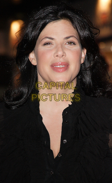 "KIRSTIE ALLSOPP .World Premiere of ""How to Lose Friends and Alienate People"" at the Empire, Leicester Square, London, England, .September 24th 2008.portrait headshot black .CAP/ROS.©Steve Ross/Capital Pictures"