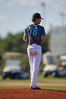 Dylan Williams during the WWBA World Championship at the Roger Dean Complex on October 20, 2018 in Jupiter, Florida.  Dylan Williams is a left handed pitcher from Kennesaw, Georgia who attends Kennesaw Mountain High School.  (Mike Janes/Four Seam Images)