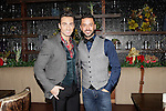LOS ANGELES - DEC11: Scott Nevins, Jai Rodriguez at Scott Nevins Presents SPARKLE: An All-Star Holiday Concert to benefit The Actors Fund at Rockwell Table & Stage on December 11, 2014 in Los Angeles, California