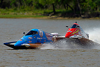 Frame 3: Chris Hughes, (#17) and Mark Schmerbach, (#35) come together in the first turn.    (SST-45 class)
