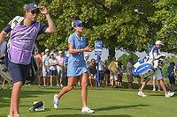 Lexi Thompson (USA) heads down 8 during round 4 of the 2018 KPMG Women's PGA Championship, Kemper Lakes Golf Club, at Kildeer, Illinois, USA. 7/1/2018.<br /> Picture: Golffile | Ken Murray<br /> <br /> All photo usage must carry mandatory copyright credit (&copy; Golffile | Ken Murray)