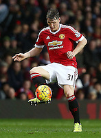 Bastian Schweinsteiger of Manchester United during the Barclays Premier League match between Manchester United and Swansea City played at Old Trafford, Manchester on January 2nd 2016