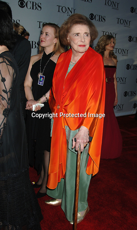 Patricia Neal ..arriving at the 60th Annual Tony Awards on June11, 2006..at Radio City Music Hall. ..Robin Platzer, Twin Images