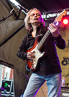 Sonny Landreth performs at the 2013 Blues and BBQ Festival in New Orleans, LA.