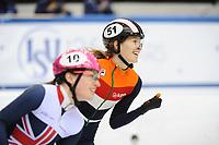 European Shorttrack Champ. Torino 140117<br /> Rianne de Vries<br /> &copy;foto Martin de Jong