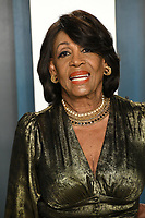 09 February 2020 - Los Angeles, California - Maxine Waters. 2020 Vanity Fair Oscar Party following the 92nd Academy Awards held at the Wallis Annenberg Center for the Performing Arts. Photo Credit: Birdie Thompson/AdMedia