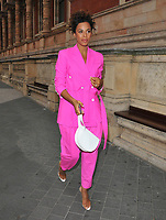 Rochelle Humes at the Syco summer party, Victoria and Albert Museum, Cromwell Road, London, England, UK, on Monday 09 July 2018.<br /> CAP/CAN<br /> &copy;CAN/Capital Pictures