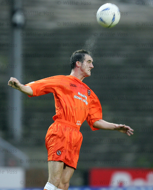 David McCracken, Dundee Utd.stock season 2003-2004.pic willie vass