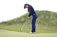 Zhen Bontan (NED) on the 7th green during Round 3 Matchplay of the Women's Amateur Championship at Royal County Down Golf Club in Newcastle Co. Down on Friday 14th June 2019.<br /> Picture:  Thos Caffrey / www.golffile.ie