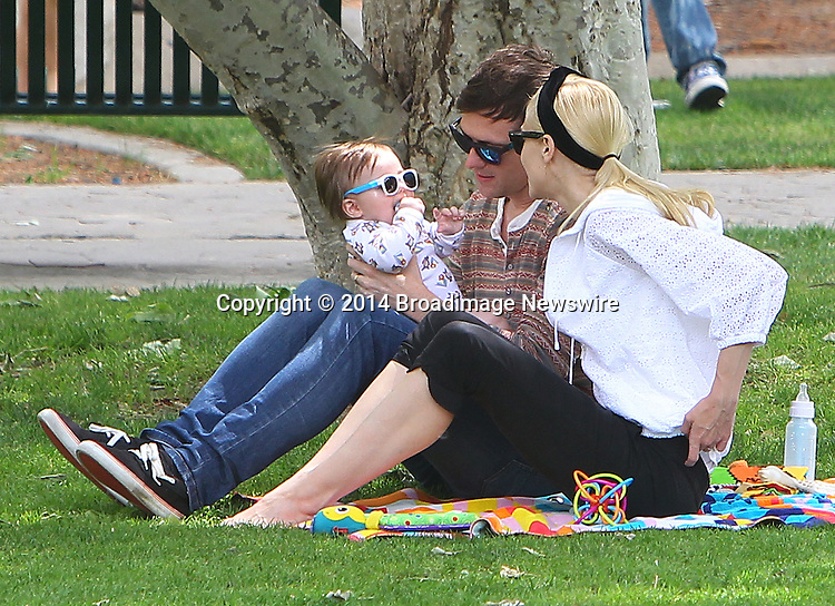 Pictured: Jaime King, Kyle Newman, James<br /> Mandatory Credit &copy; ACLA/Broadimage<br /> Jaime King, husband Kyle Newman and baby James at the Coldwater Canyon Park in Beverly Hills<br /> <br /> 3/29/14, Beverly Hills, California, United States of America<br /> <br /> Broadimage Newswire<br /> Los Angeles 1+  (310) 301-1027<br /> New York      1+  (646) 827-9134<br /> sales@broadimage.com<br /> http://www.broadimage.com