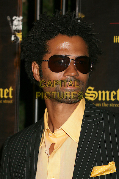 ERIC BENET.Christian Audigier's Birthday Celebration at a private residence in  Los Angeles, California, USA,.25 May 2007..portrait headshot sunglasses yellow shirt.CAP/ADM/BP.©Brent Perniac/AdMedia/Capital Pictures.