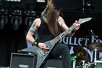 Bullet For My Valentine performing at the Soundwave Festival, Melbourne, 4 March 2011