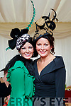 Mary Woulfe (Athea) and Siobhan Kennedy (Tournafulla), enjoying Ladies Day at Listowel Races on Friday last.