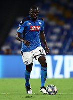 5th November 2019; Stadio San Paolo, Naples, Campania, Italy; UEFA Champions League Group Stage Football, Napoli versus Red Bull Salzburg; Kalidou Koulibaly of Napoli  - Editorial Use