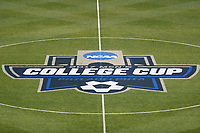 Chester, PA - Friday December 08, 2017: Center circle, NCAA College Cup logo prior to a NCAA Men's College Cup semifinal soccer match between the Stanford Cardinal and the Akron Zips at Talen Energy Stadium.