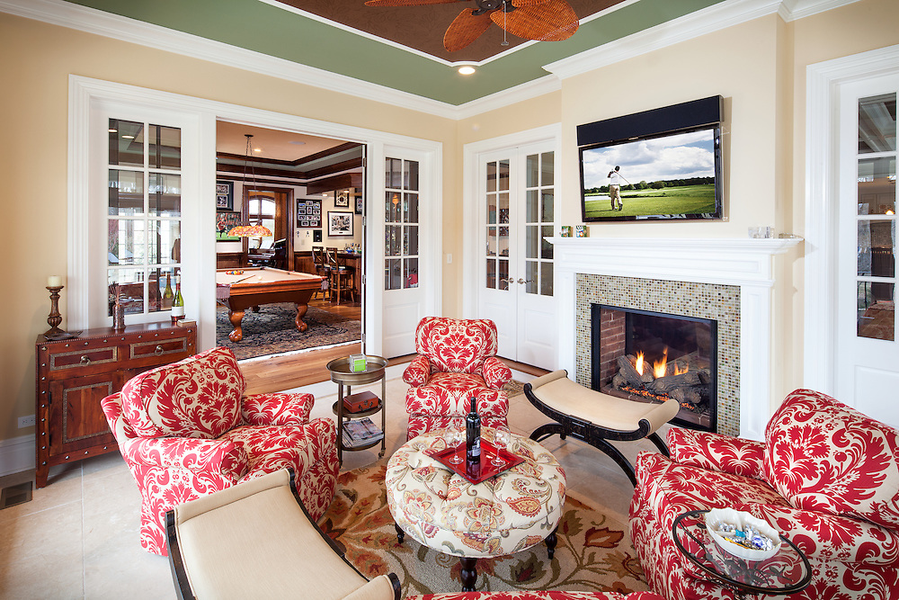 When a sun room doubles as a media room, you get the best of both worlds: Sun & TV!