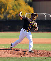 Luarbert Arias - San Diego Padres 2020 spring training (Bill Mitchell)