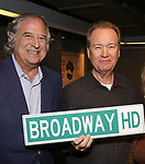 Strewart F. Lane and David Horn Behind the Scenes with BroadwayHD: A Digital Capture of  Roundabout Theatre Company's 'If I Forget' at Laura Pels Theatre on 4/28/2017 in New York City.