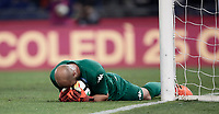 Calcio, Serie A: Roma, stadio Olimpico, 14 ottobre 2017.<br /> Napoli's goalkeeper Jos&eacute; Manuel Reina in action during the Italian Serie A football match between Roma and Napoli at Rome's Olympic stadium, October14, 2017.<br /> UPDATE IMAGES PRESS/Isabella Bonotto