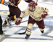 Bill Arnold (BC - 24) - The Boston College Eagles defeated the University of Minnesota Golden Gophers 6-1 in their 2012 Frozen Four semi-final on Thursday, April 5, 2012, at the Tampa Bay Times Forum in Tampa, Florida.