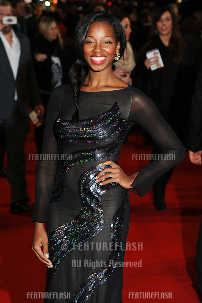 Jamelia arriving for the World Premiere of Gambit, at the Empire Leicester Square, London. 07/11/2012 Picture by: Steve Vas / Featureflash