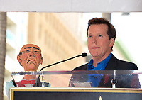 Jeff Dunham at the Hollywood Walk of Fame Star Ceremony honoring ventriloquist Jeff Dunham, Los Angeles, USA 21 Sept. 2017<br /> Picture: Paul Smith/Featureflash/SilverHub 0208 004 5359 sales@silverhubmedia.com