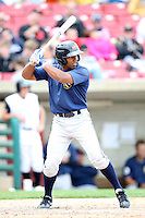 April 11 2010: Jose Bonilla of the Burlington Bees. The Bees are the Low A affiliate of the Kansas City Royals. Photo by: Chris Proctor/Four Seam Images