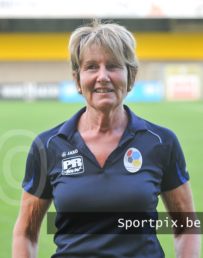 Waasland Beveren Sinaai Girls : Terry Van Osselaer.foto Vrouwenteam.be / David Catry