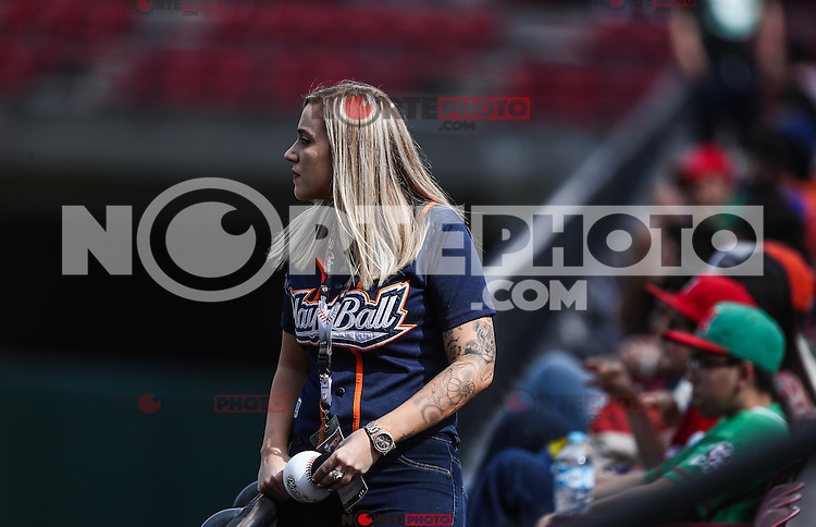 Acciones,durante el partido de beisbol de la Serie del Caribe entre Republica Dominicana vs Puerto Rico en el Nuevo Estadio de los Tomateros en Culiacan, Mexico, Sabado 4 Feb 2017. Foto: Luis Gutierrez/NortePhoto.com<br /> <br /> Actions, during the Caribbean Series baseball match between Dominican Republic vs Puerto Rico at the New Tomateros Stadium in Culiacan, Mexico, Saturday 4 Feb 2017. Photo: Luis Gutierrez / NortePhoto.com