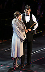 "Rachel Bloom and Tony Yazbeck during the Manhattan Concert Productions 25th Anniversary concert performance of ""Crazy for You"" at David Geffen Hall, Lincoln Center on February 19, 2017 in New York City."