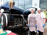 Michael Quinn and Ciaran Campbell from Lanney's Super Valu had a barbecue during the Ardee Bonanza weekend. Photo:Colin Bell/pressphotos.ie