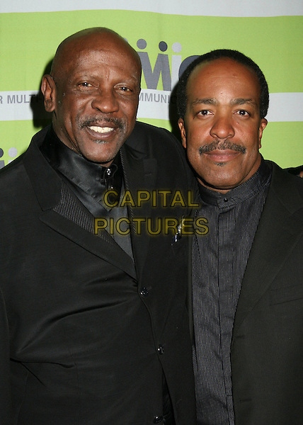 18 April 2006 - Beverly Hills, California - Louis Gossett Jr. and Robert Gossett. 12th Annual NAMIC Vision Awards. Photo Credit: Byron Purvis/AdMedia