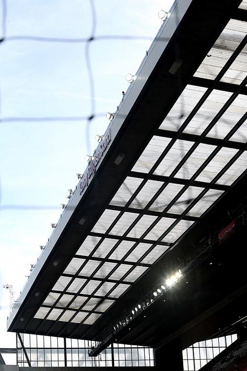 A general view of the new Kenny Dalglish stand at Anfield, home of Liverpool<br /> <br /> Photographer Rich Linley/CameraSport<br /> <br /> The Premier League - Liverpool v Manchester United - Saturday 14th October 2017 - Anfield - Liverpool<br /> <br /> World Copyright &copy; 2017 CameraSport. All rights reserved. 43 Linden Ave. Countesthorpe. Leicester. England. LE8 5PG - Tel: +44 (0) 116 277 4147 - admin@camerasport.com - www.camerasport.com