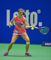 Rotterdam, Netherlands, December 19, 2015,  Topsport Centrum, Lotto NK Tennis, Quirine Lemoine  (NED)<br /> Photo: Tennisimages/Henk Koster