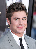 "WESTWOOD, LOS ANGELES, CA, USA - APRIL 28: Zac Efron at the Los Angeles Premiere Of Universal Pictures' ""Neighbors"" held at the Regency Village Theatre on April 28, 2014 in Westwood, Los Angeles, California, United States. (Photo by Xavier Collin/Celebrity Monitor)"