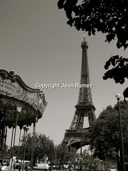 Eiffel Tower & Carrousel