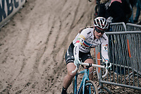Katie Compton (USA/KFC Racing p/b Trek/Panache)<br /> <br /> Women's Elite race<br /> <br /> UCI cyclocross World Cup Koksijde / Belgium 2017