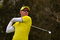 Gareth Paddison (NZL) on the 3rd fairway during round 2 of the Australian PGA Championship at  RACV Royal Pines Resort, Gold Coast, Queensland, Australia. 20/12/2019.<br /> Picture TJ Caffrey / Golffile.ie<br /> <br /> All photo usage must carry mandatory copyright credit (© Golffile | TJ Caffrey)